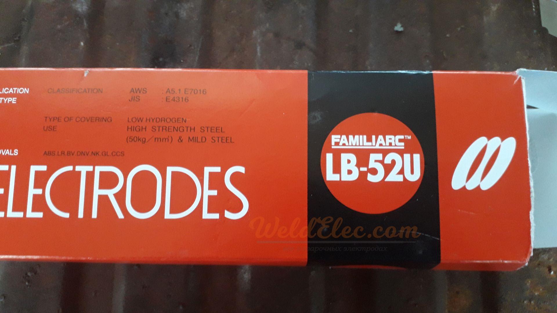 сварочные электроды Kobelco LB-52U
