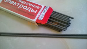 Ресанта МР-3. Сварочные электроды